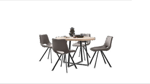 Dining table after clipping path